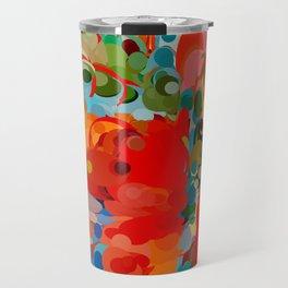 color bubble storm Travel Mug