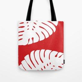 Tropical Red Tote Bag