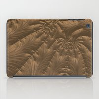 renaissance iPad Cases featuring Renaissance Brown by Charma Rose