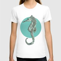 seahorse T-shirts featuring Seahorse by Rachel Russell