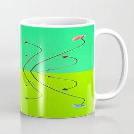 fleur quatre coleure Coffee Mug