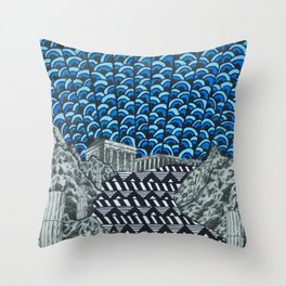 Ceu Throw Pillow