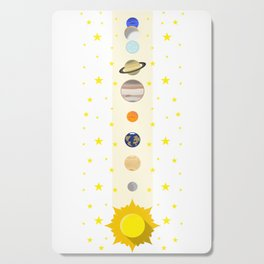 Solar System #society6 #decor #buyart #artprint Cutting Board
