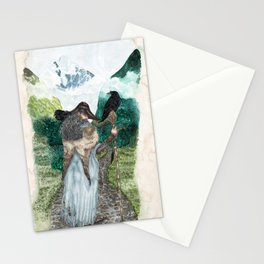 The wanderer of Midgard Stationery Cards