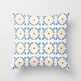 Wallpaper Sicily 01 Throw Pillow