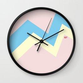 PASTEL EASTER EGG I #minimal #art #design #easter #egg #kirovair #buyart #decor #home Wall Clock