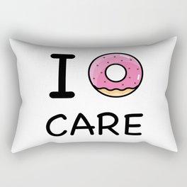 I donut care Rectangular Pillow
