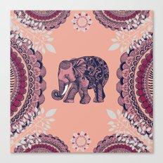 Bohemian Elephant  Canvas Print