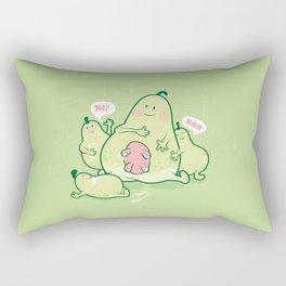 Pear & Milk Rectangular Pillow