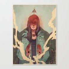 3 Sides Canvas Print