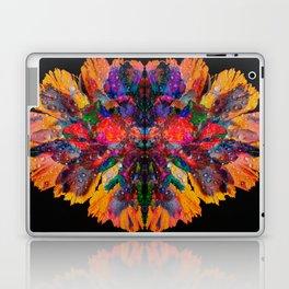 Dew Drop Rainbow Flower Laptop & iPad Skin