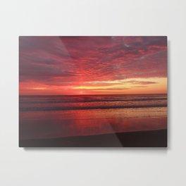 Ogunquit Beach Sunrise Metal Print