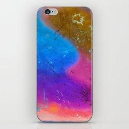 Chalkstock Drawing Invert iPhone Skin