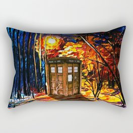Tardis Alone Rectangular Pillow