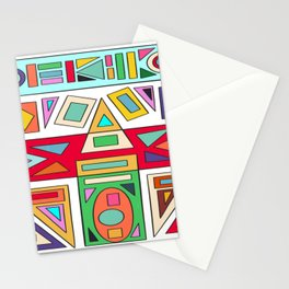 Geometric Ruins Stationery Cards