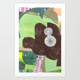 collage 207 Art Print