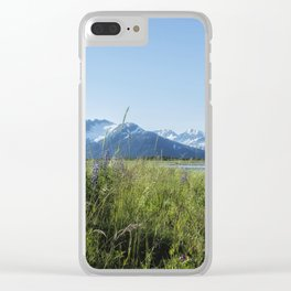 Along the Seward Highway, No. 1 Clear iPhone Case