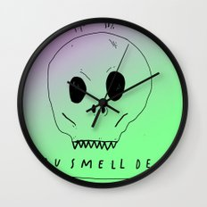 YOU SMELL BAD Wall Clock