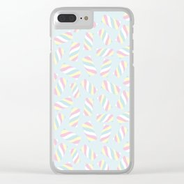 Marshmallow Meadows Clear iPhone Case