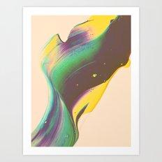 >untitled< Art Print