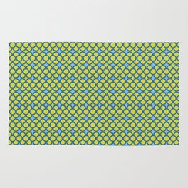 Blue Green Scales Rug