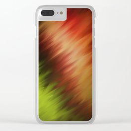 Natures Feathers Clear iPhone Case