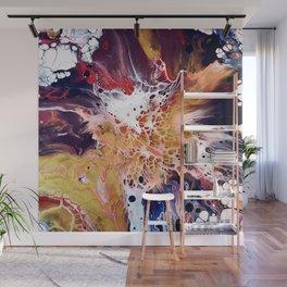 Galactical Starburst - Abstract - Fluid Art Wall Mural
