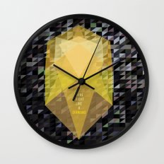 Shine bright like a diamond  Wall Clock