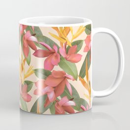 Mixed Paradise Tropicals in Vintage Coffee Mug
