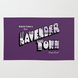 Greetings from Lavender Town Rug