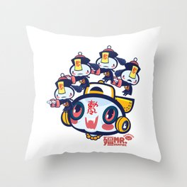 Mr. Vampire and Friends Throw Pillow