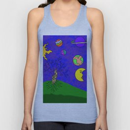 Tree and Sky Unisex Tank Top