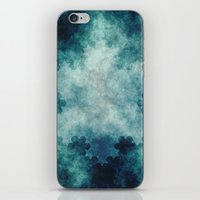 snowflake iPhone & iPod Skins featuring Snowflake by Anchor Eight