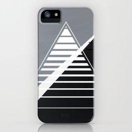 London - triangle line iPhone Case