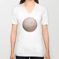 ass V-neck T-shirts featuring Ass Skin by pixel404