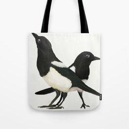 Two For Joy - Magpie Pair Tote Bag