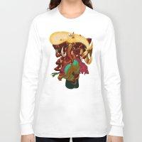 ganesh Long Sleeve T-shirts featuring Ganesh by marekolani
