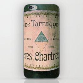 Chartreuse Green Liqueur Fabriquee par Les Peres Chartreux iPhone Skin