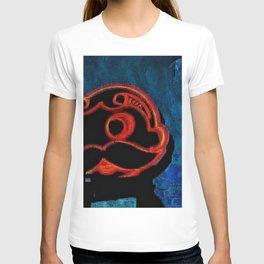 Chalk sketch of Natty Boh Tower at night T-shirt
