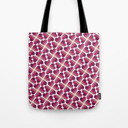 Psychedelically Lucky in Love Tote Bag