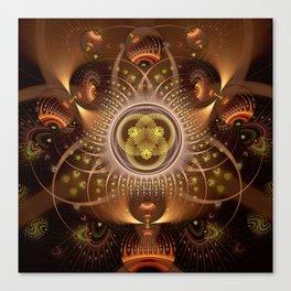 Copper Cosmos Canvas Print