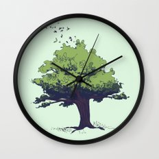 Arbor Vitae - Tree of Life Wall Clock