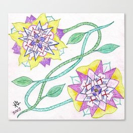 Flowers of Elume Canvas Print