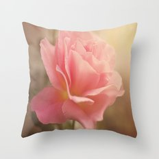 Love is much like a wild rose....... Throw Pillow