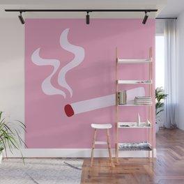 cigarette break Wall Mural