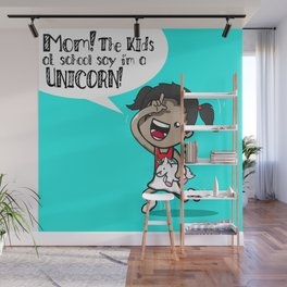 I'm A Unicorn Wall Mural