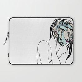 Many Faces of Lady Laptop Sleeve