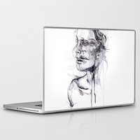 butterfly Laptop & iPad Skins featuring Tremore by agnes-cecile