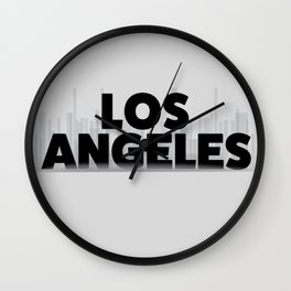 Los Angeles , California Wall Clock