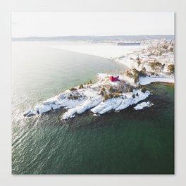 Harbor Lighthouse | Marquette, Michigan | Upper Peninsula | John Hill Photography Canvas Print